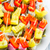 dedo · aperitivo · festa · sanduíche · cozinhar - foto stock © fotoaloja