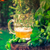 bière · vert · verre · lumière · fond - photo stock © fotoaloja