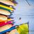 színes · ceruzák · közelkép · festék · oktatás · zöld - stock fotó © fotoaloja