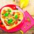 delicious italian pizza served wooden table stock photo © fotoaloja