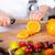 chef · frutas · delicioso · ensalada · mixto · alimentos - foto stock © fotoedu