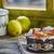 casero · yogurt · frescos · bayas · naturaleza - foto stock © fotoedu