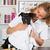 veterinário · cão · americano · veterinário · mão · sorrir - foto stock © fotoedu