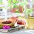 コーヒーカップ · フルーツ · コーンフレーク · パン · トースト - ストックフォト © fotoedu