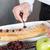 chef finishing his cake stock photo © fotoedu