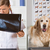 veterinário · clínica · veterinário · golden · retriever · olhando · médico - foto stock © fotoedu