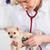 veterinario · cachorro · veterinario · médico · hospital · femenino - foto stock © fotoedu