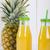 Glas · Flasche · Ananas · Saft · isoliert · weiß - stock foto © fotoedu