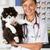 veterinário · clínica · gatinho · gato · mulheres - foto stock © fotoedu