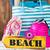 beach bag stock photo © fotoedu