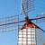 öreg · szélmalom · Kanári-szigetek · Spanyolország · fa · fém - stock fotó © fotoedu