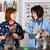 veterinário · clínica · dois · schnauzer · cães · cão - foto stock © fotoedu