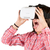 mulher · virtual · realidade · óculos · 3d · ciência · tecnologia - foto stock © fotoedu
