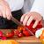radis · rouge · couteau · noir · planche · à · découper - photo stock © fotoedu