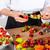 chef · frutas · variedad · mixto · frutas · mujer - foto stock © fotoedu