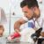 állatorvosi · klinika · francia · bulldog · pár · klinikai - stock fotó © fotoedu
