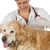 veteriner · klinik · aşı · köpek · golden · retriever · doktor - stok fotoğraf © fotoedu