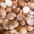 gebroken · schelpen · kip · eieren · witte · houten · tafel - stockfoto © Fotografiche