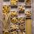 tészta · választék · fából · készült · doboz · arany · citromsárga - stock fotó © fotografiche
