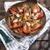 gedroogd · tomaten · rosmarijn · olijfolie · knoflook · voedsel - stockfoto © Fotografiche