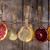 fatias · secas · cítrico · conjunto · diferente · frutas - foto stock © fotografiche
