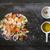 karışık · salata · plaka · tanıtım · yemek · taş - stok fotoğraf © Fotografiche