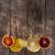 turuncu · limon · kireç · dilimleri · su · hava - stok fotoğraf © fotografiche