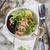 bianco · nero · risotto · gamberetti · zucchine · secondo · piatto - foto d'archivio © Fotografiche