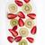 fresco · kiwi · morango · fatias · abstrato · verde - foto stock © fotografiche