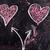 liefde · krijt · Blackboard · gelukkig · abstract · hart - stockfoto © fotografiche