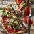 ピザ · 全粒小麦 · 小麦粉 · ディナー · 赤 · パスタ - ストックフォト © Fotografiche