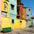 LA · színes · környék · Buenos · Aires · ház · textúra - stock fotó © fotoquique