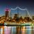 Buenos · Aires · híres · Argentína · dél-amerika · üzlet · égbolt - stock fotó © fotoquique