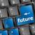 futuro · clave · teclado · pronóstico · inversión - foto stock © fotoscool