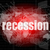 business concept words recession on business digital screen 3d stock photo © fotoscool