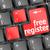 szabad · számítógép · billentyűzet · kulcs · mutat · internet · technológia - stock fotó © fotoscool