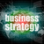 business strategy word on digital screen, mission control interface hi technology stock photo © fotoscool
