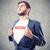 бизнесмен · молодые · движения · бизнеса · человека · груди - Сток-фото © FotoVika