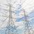 elektrik · kule · yarar · kutup · güç · bulutlu - stok fotoğraf © frameangel