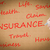 hand drawing insurance word stock photo © frameangel