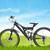 rojo · centavo · bicicleta · negro · arte · moto - foto stock © frameangel