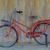 ciudad · bicicleta · concretas · pared · vintage · estilo - foto stock © frameangel