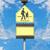 школы · знак · Blue · Sky · детей · пространстве · синий - Сток-фото © frameangel