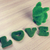 green love wording and little rabbit on wooden floor made from stock photo © frameangel