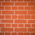brick wall orange stock photo © frameangel