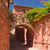 alley with arches roussillon provence france stock photo © frank11
