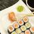 sushi · piatto · maki · zenzero · wasabi - foto d'archivio © frank11