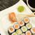 sushi on a plate horizontally stock photo © frank11
