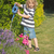 blond boy is gardening stock photo © frank11