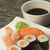 sushi on a plate vertically stock photo © frank11